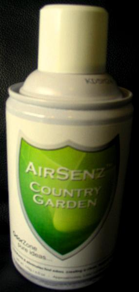Control Zone F006 AirSenz Fragrances, 6 oz, Covers 6000 cu. ft., Country Garden