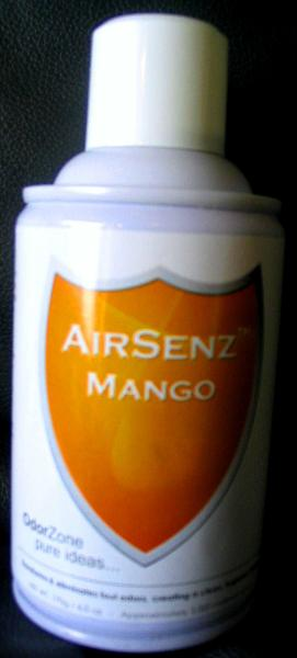 Control Zone F008 AirSenz Fragrances, 6 oz, Covers 6000 cu.ft. -  Mango