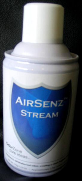 Control Zone F011 AirSenz Fragrances, 6 oz, Covers 6000 cu.ft. -  Stream