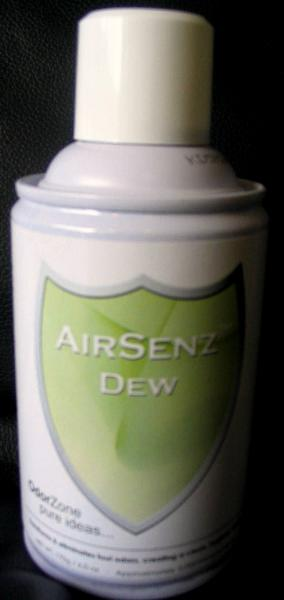 Control Zone F012 AirSenz Fragrances, 6 oz, Covers 6000 cu.ft. -  Dew