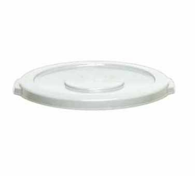 Continental Commercial 1002WH Lid For Model 1001 Trash Cans, 1-1/3 x 16-in Diameter, White