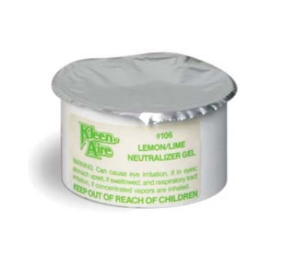 Continental 106 Natural Neutralizer Gel For 101 & 100 Dispenser, Lemon/Lime