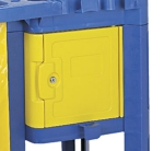 Continental 187 YW Lock Box For 184 & 186, 15 x 16 x 11-in, Yellow