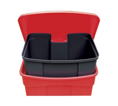 Continental 19 Rigid Liner For 23-Gallon Step-On Receptacles