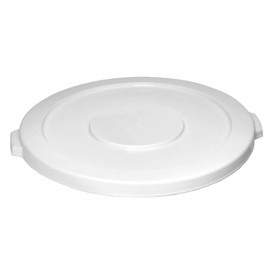 Continental Commercial 2001WH Lid For Model 2000 Trash Cans, 1-1/4 x 19-7/8-in Diameter, White