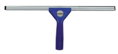 Continental Commercial 2475 18-in Window Squeegee, Rubber Blades, Preassembled, Blue