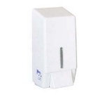Continental 260 Wall-Mounted Liquid Soap Dispenser, 30-oz Capacity, White Plastic