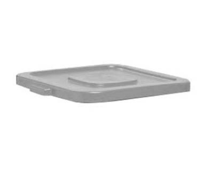Continental Commercial 2801 GY Square Huskee Trash Can Lid, Fits 2800, Grey