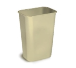 Continental 4114 BE Rectangular Wastebasket, 19.87 x 15.25 x 11-in, Beige