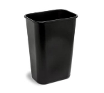 Continental 4114 BK Rectangular Wastebasket, 19.87 x 15.25 x 11-in Black