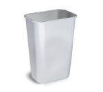 Continental Commercial 4114 GN Rectangular Wastebasket, 19.87 x 15.25 x 11-in Green
