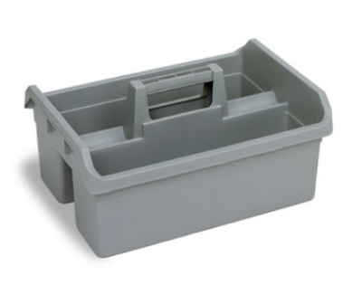 Continental Commercial 49GY Maid Caddy, 19-in/12.5-in High Impact Plastic, Grey