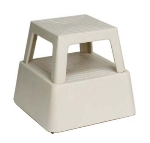 Continental 523 TN Step Stool, 14.25-in, Structural Plastic, Tan