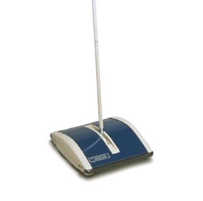 Continental Commercial 5323 Huskee Sweeper w/ Horsehair Bristles, Blue