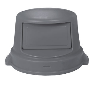 Continental Commercial 5550 GY Dome Top Lid for Huskee Trash Can Model 5500, Grey