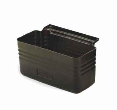 Continental Commercial 5811BK 2-Gallon Silverware Bin For Model 5810 Bussing Cart, Black