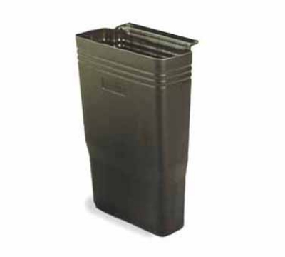Continental 5812BK 8.8-Gallon Refuse Bin For Model 5810 Bussing Cart, Black