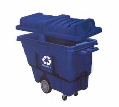 Continental 5840-1 5/8-cu yd Standard Duty Recycling Tilt Truck, 750-lbs, Blue