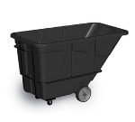 Continental Commercial 5852 BK 1.5-cu yd Heavy Duty Tilt Truck, Black