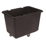 Continental Commercial 5916BK Recycling Truck w/ 16-cu ft Capacity, Black