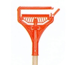 Continental 605 Break A Way Mop Handle, 56.5 x 1.12 x 7.5-in, Wood, Orange