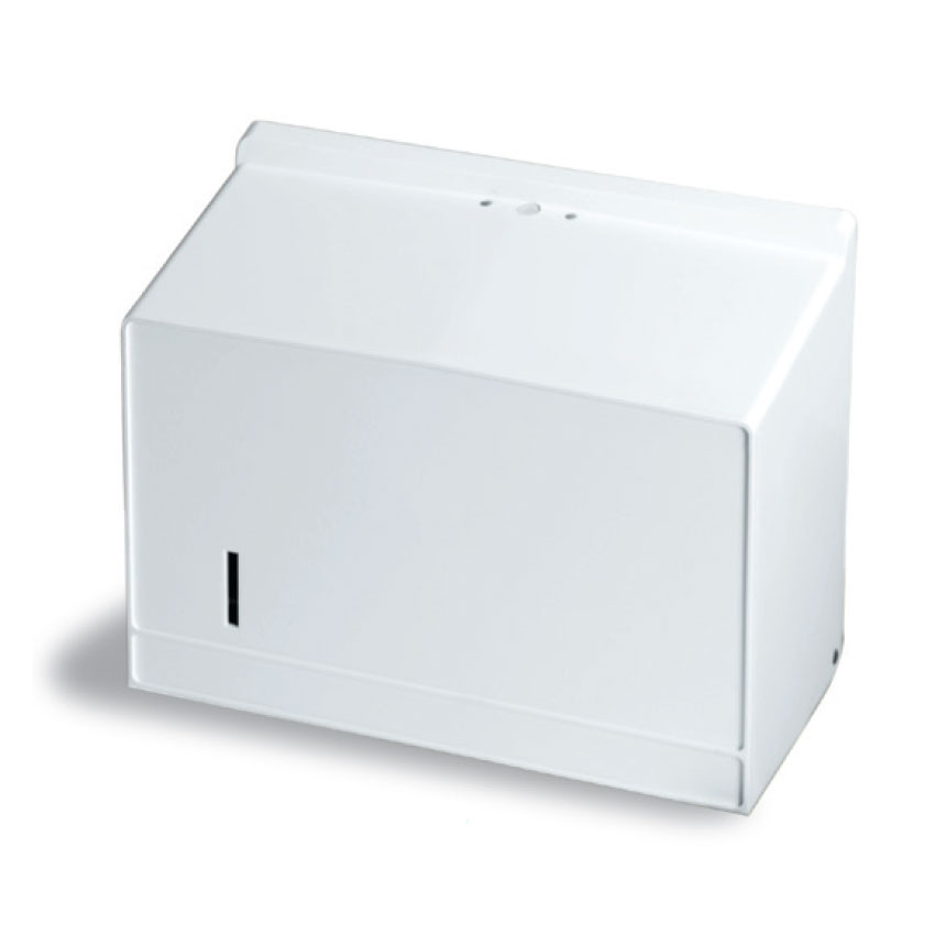 Continental 631P Wall-Mounted Paper Towel Dispenser For Single-Fold Towels, Plastic