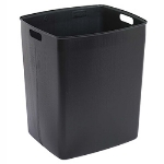 Continental Commercial 645-1 45-Gallon Recycle Receptacle w/ Hinged Lid, Yellow & Grey Lid