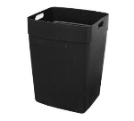 Continental 6561 BK Rigid Liner for 56-Gal Colossus, 21.5 x 20.5 x 29.75-in, Black