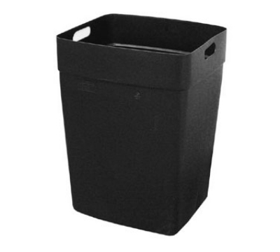 Continental Commercial 6561 BK Rigid Liner for 56-Gal Colossus, 21.5 x 20.5 x 29.75-in, Black