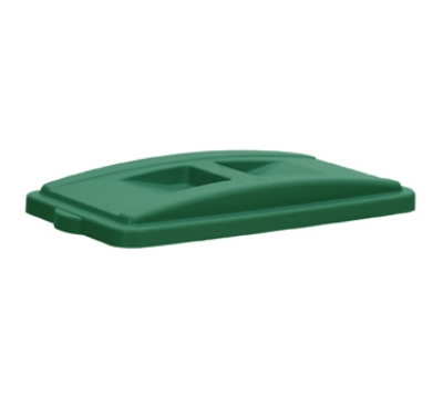 Continental 7315GN Recycle Lid w/ Handles For 8322 & H8322 Receptacles, Green