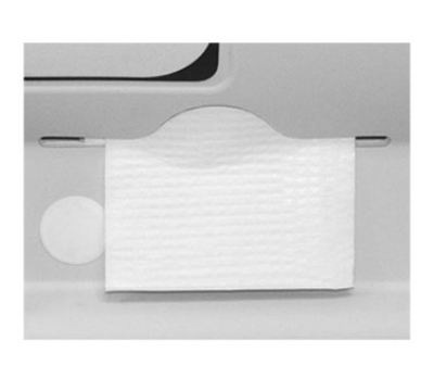 Continental 8255 Sanitary Plastic-Lined Paper Bed Liners, White