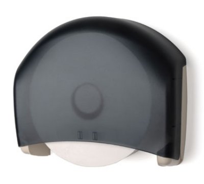 Continental Commercial 841 Single Roll Toilet Tissue Dispenser, Beige & Navy