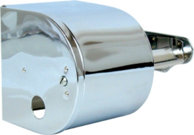 Continental Commercial 876C Covered Toilet Tissue Dispenser Holds (2) 1500-Sheet Rolls, Chrome