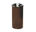 Continental 888 BN Sand Urn w/ Chrome Ashtray top, 20 x 10-in, Brown