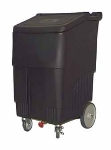 "Continental 9720BK 200-lb Ice Caddy - Lift Up, Slant Top, 44"" H"