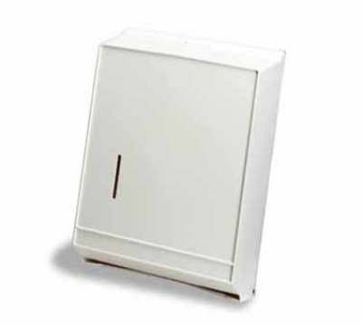 Continental Commercial 992P Wall-Mounted Paper Towel Dispenser, Multi-Fold/C-Fold Towels, Plastic