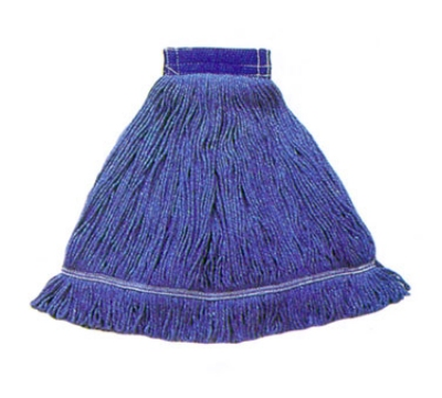 Continental A03002 Wet Mop Head, Launderable, 5-in, Medium, Blue, Denim Blend