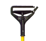 Continental A70312 94 Speed Change Wet Mop Handle, 60-in, Yellow w/ Black Head