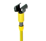 Continental A70612 Wet Mop Handle, 60-in Fiberglass Handle w/ Yellow & Black Head