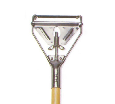 Continental Commercial A70902 60-in Wooden Wet Mop Handle w/ Metal Head