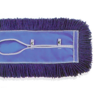 Continental C003024 PermaTwist Dust Mop Head, 5 x 24-in, Blue, Cotton