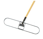 Continental C801260 60-in Dust Mop Handle w/ Spring Clip and Lock, Fiberglass