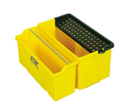 Continental CB-5YW 5-Gal ErgoWorx Solution Bucket, Yellow