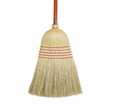 Continental Commercial E502024 Housekeeper Corn Broom, 24-lb, Wood