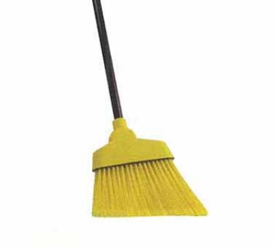 Continental E507012 55-in Angle Broom, 12-in Wide, Black & Yellow