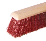 Continental Commercial F103124 24-in Crimped Polystyrene Garage Sweep w/ Foam Block, 3.5-in Trim