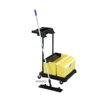 Continental Commercial SYSK2 Starter Kit: Bucket, Mop Frame & Handle, 10-Mops, 12-Cloths, 2-Bags