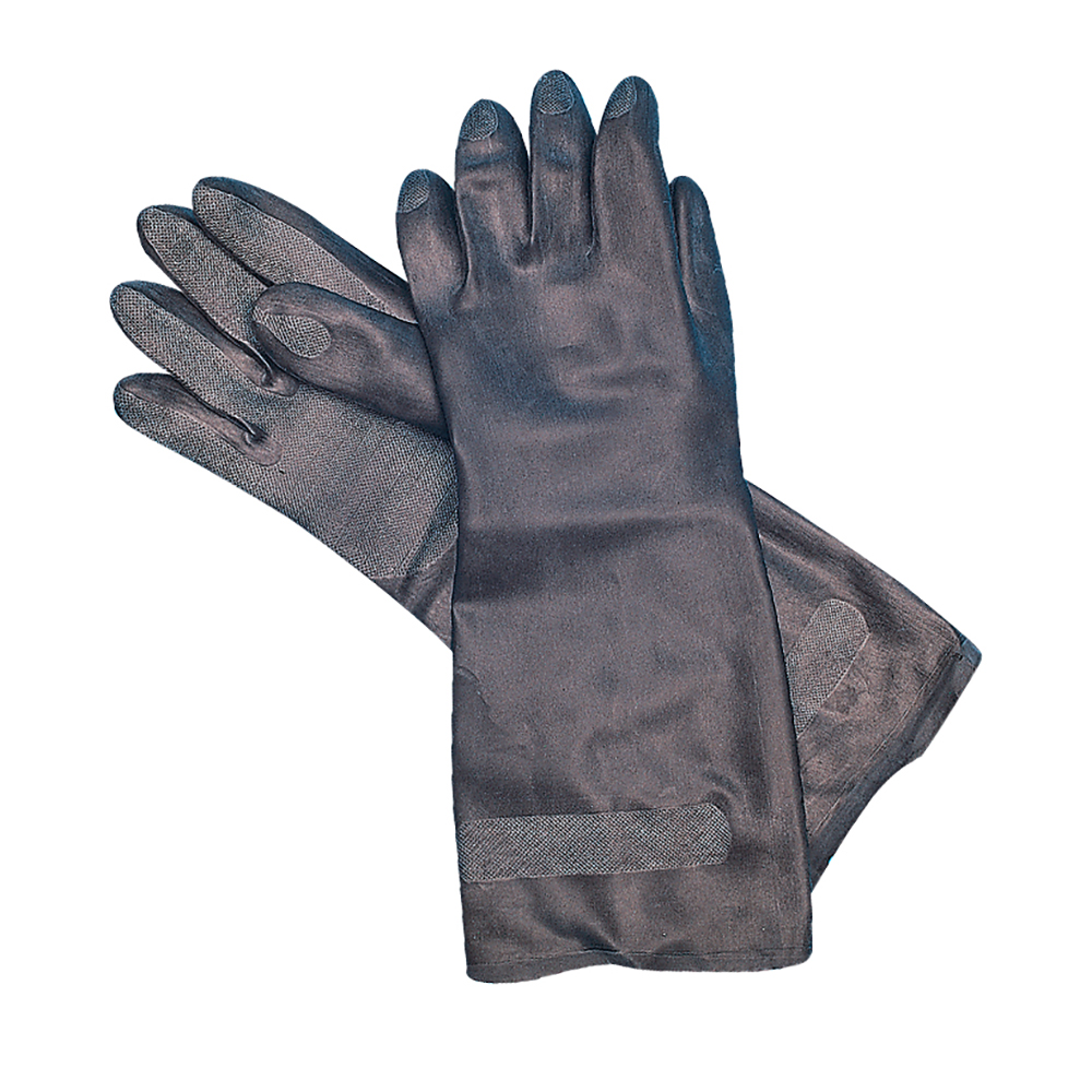 San Jamar 238SF-M Lined Neoprene Glove, Medium, Heat Resistant, Embossed Grip