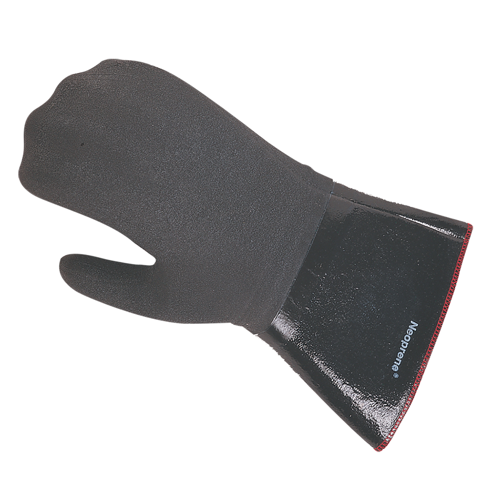 San Jamar 6786RMT-XL Neoprene Oven Mitt, Fully Insulated, Heat & Liquid Resistant