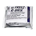 San Jamar B6180 EZ-Chill Refreezable Ice Packs, 6 to a Pack